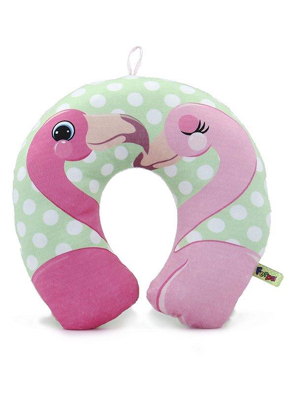 Almofada de Pescoço Flamingos