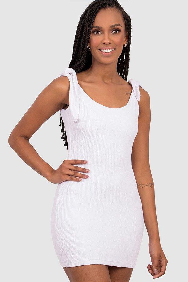 Vestido Firenzi Feminino Branco