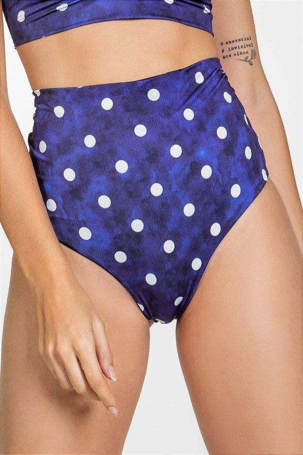 Biquíni Feminino Calcinha Hot Pant Marinho E07