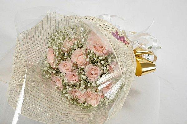 Mini Topiaria de Rosas