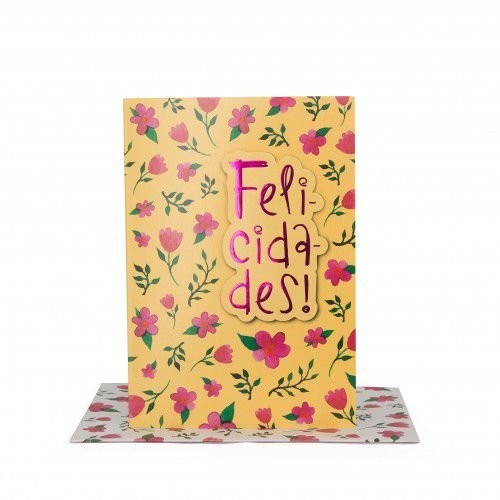 Cartão Médio Felicidades