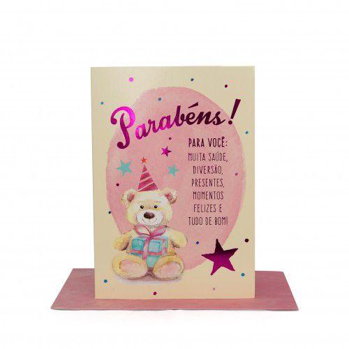 Cartão Médio Parabéns