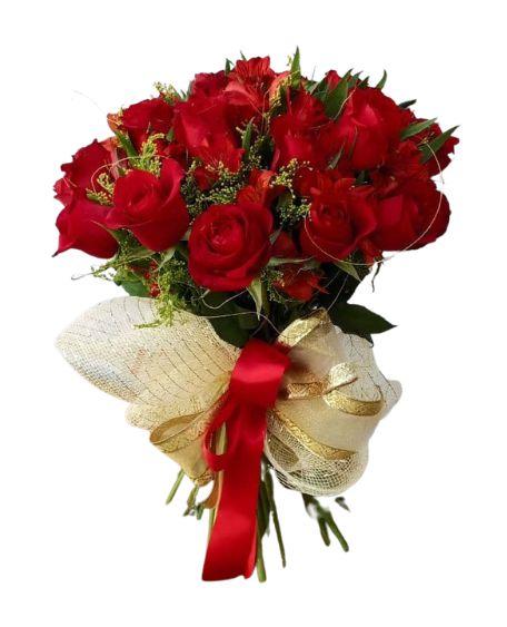 Topiaria de 20 Rosas