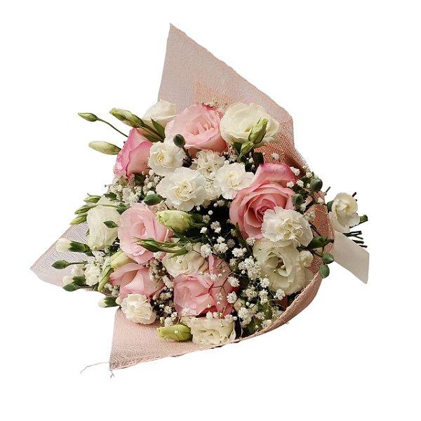 Buquê de 6 Rosas