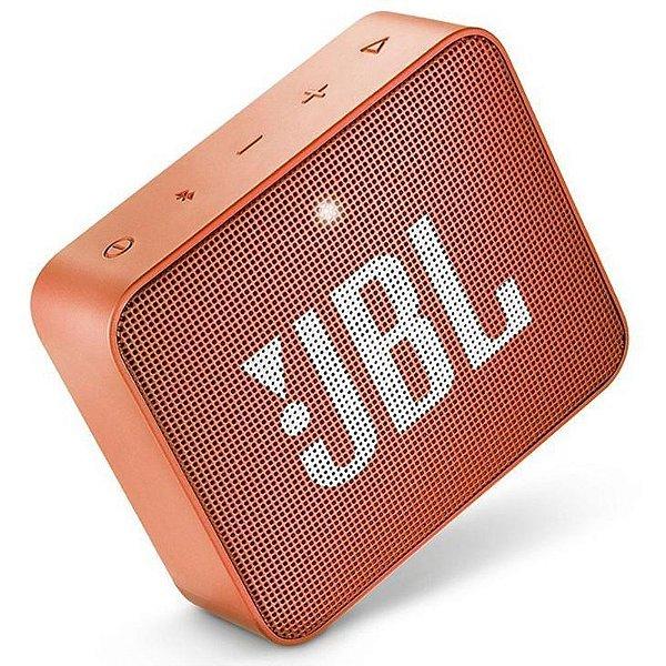 CAIXA ACÚSTICA JBL GO 2 LARANJA (JBLGO2ORG)