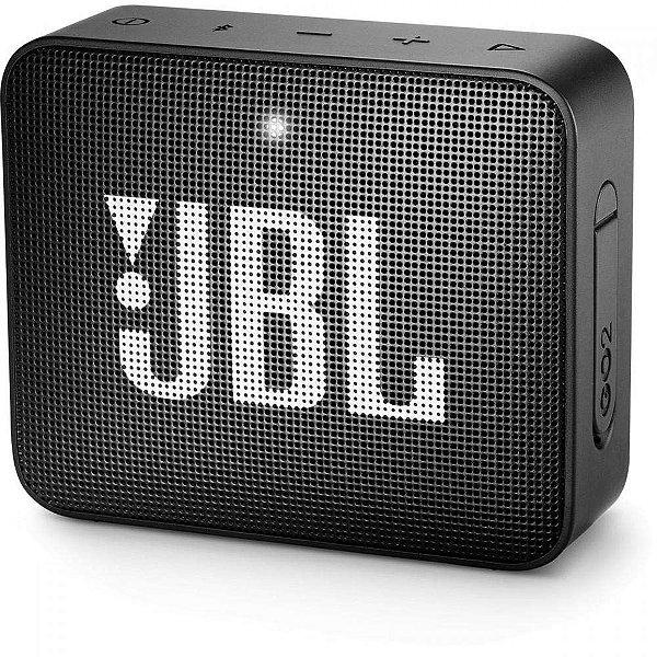 CAIXA ACÚSTICA JBL GO 2 PRETA (JBLGO2BLK)