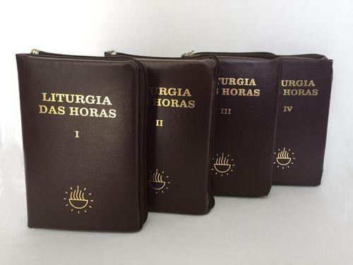 Liturgia das Horas - Volume I, II, III,  e IV