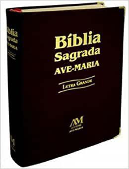 Bíblia Letra Grande - Capa Preta