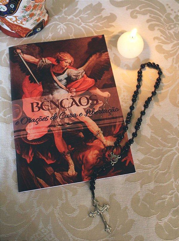 COMBO: Livro das Bênçãos + Terço de São Miguel