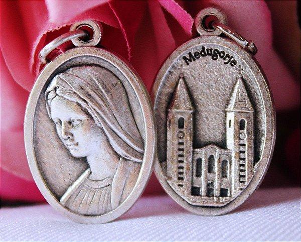 Medalha de Nossa Senhora Rainha da Paz - Média (produto de Medjugorje)