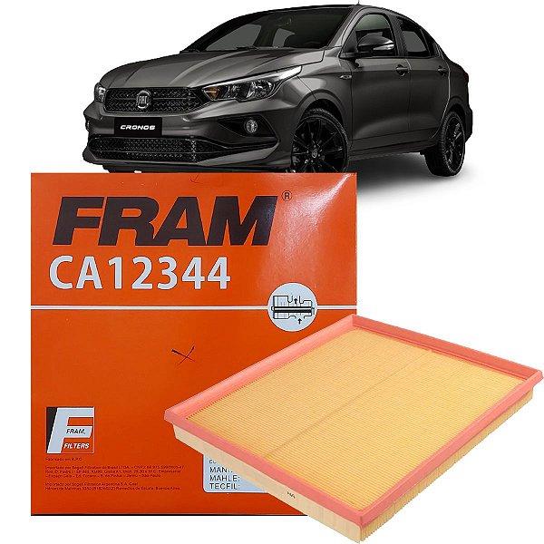 Filtro De Ar Fram Fiat Cronos 1.8 Etorq Flex Hgt Precision AT6 2018 2019 2020 2021 2022