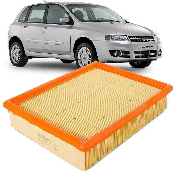 Filtro De Ar Fram Fiat Stilo 1.8 8V 16V 2003 2004 2005 2006 2007 2008 2009 2010 2011 2012