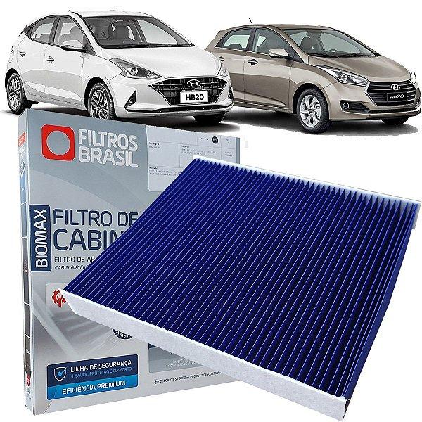 Filtro Ar Condicionado Cabine Antiviral Elimina Virus Bacterias Filtros Brasil Hyundai Hb20 Todos De 2012 Em Diante