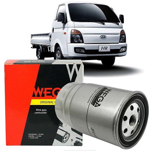 Filtro De Combustivel Wega Hyundai Hr 2.5 Diesel Turbo 2013 2014 2015 2016 2017