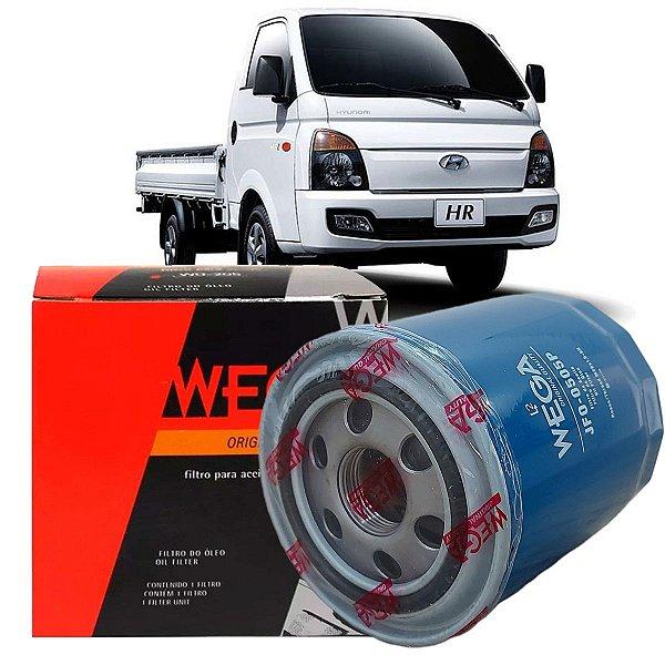 Filtro De Oleo Wega Hyundai Hr 2.5 Diesel 2006 2007 2008 2009 2010 2011 2012 2013 2014 2015 2016 2017