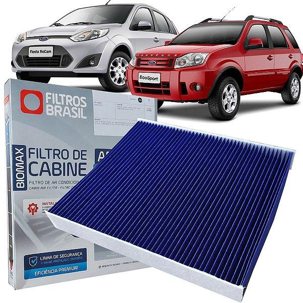Filtro De Ar Condicionado Cabine Antiviral Filtros Brasil Ford Fiesta Ecosport Zetec Rocam E Duratec