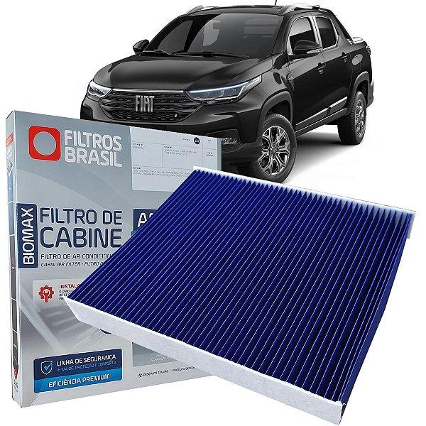Filtro De Ar Condicionado Cabine Antiviral Filtros Brasil Fiat Strada 1.3 1.4 Firefly Endurance Freedom Volcano 2020 2021 2022