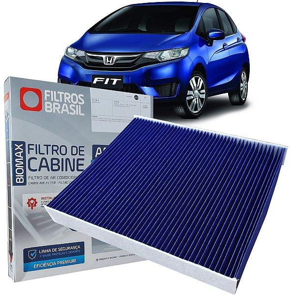 Filtro De Ar Condicionado Cabine Antiviral Filtros Brasil Honda Fit 1.5 2009 2010 2011 2012 2013 2014 2015 2016 2017 2018 2019 2020