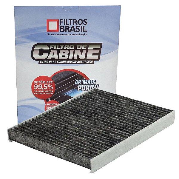Filtro De Cabine Com Carvão Ativado FBC512 - Argo Cronos Mobi Novo Uno Novo Palio Grand Siena 500 Strada Fiorino