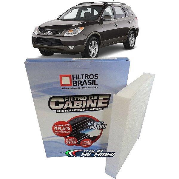 Filtro De Cabine Filtros Brasil FB270 - Hyundai Veracruz 3.8 V6 Gls de 2007 Até 2013