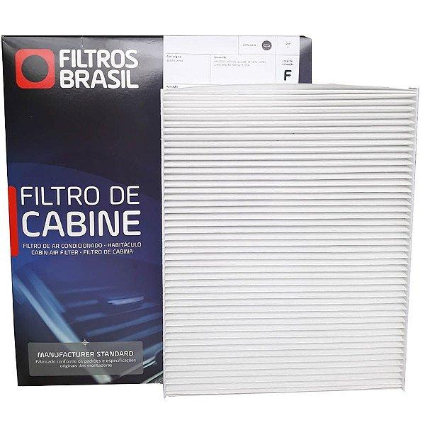 Filtro De Cabine Filtros Brasil FB308 - Volkswagen Vw Jetta Passat Golf Tiguan Novo Fusca Audi A3 Q3