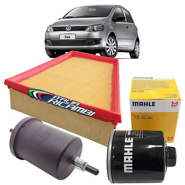 Kit filtros ar, óleo e combustível  - VW Fox 1.6 Total Flex de Abril/2008 em diante