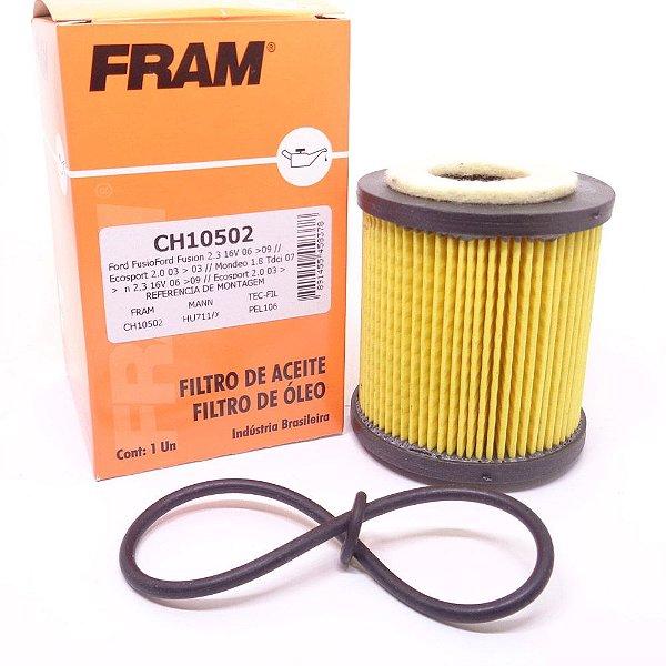 Filtro De Óleo Fram CH10502 - Ford Fusion 2.3 16V De 2006 Até 2009 E Mondeo 2.0 16V Após 2001