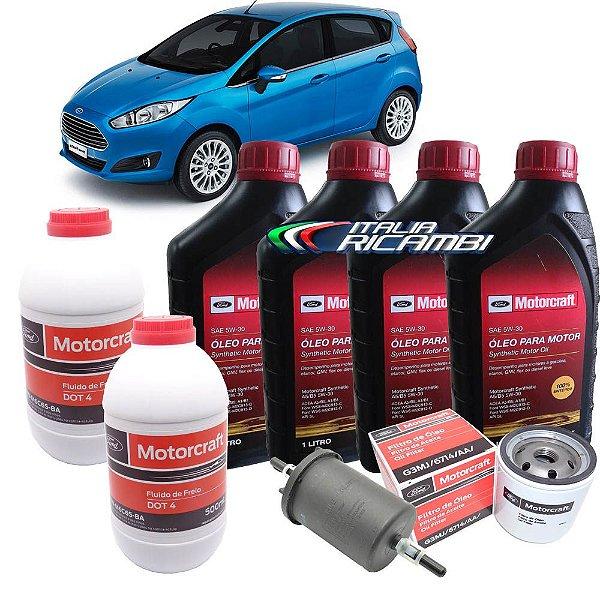 Kit revisão Ford - 30.000 km 36 meses - Ford New Fiesta 1.5 16V e 1.6 16V 2013 em diante