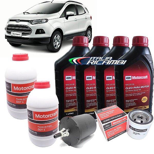 Kit revisão Ford - 30.000 km 36 meses - Ford Ecosport 1.6 16V de 2012 até 2017