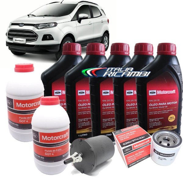 Kit revisão Ford - 30.000 km 36 meses - Ford Ecosport 2.0 16V de 2012 em diante