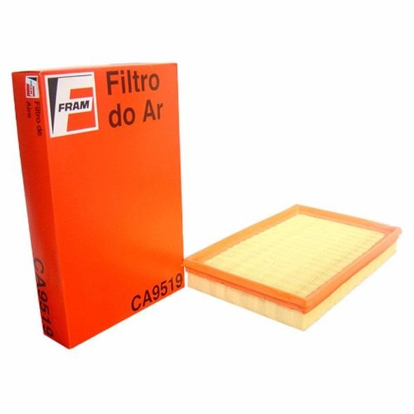Filtro de ar Fram CA9519 - VW Crossfox, Fox, Gol, Golf, Parati, Spacefox e Polo
