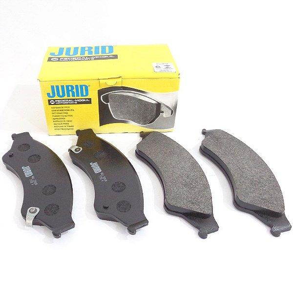 Jogo de pastilhas freio dianteira Jurid HQJ2302 - Renault Duster Oroch Fluence e Captur