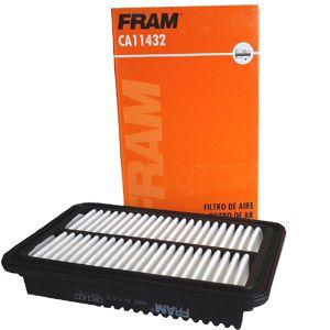 Filtro de ar Fram CA11432 - Hyundai HB20 1.0 12V 80CV e Kia Picanto 1.0 12V 69CV de 2012 em diante