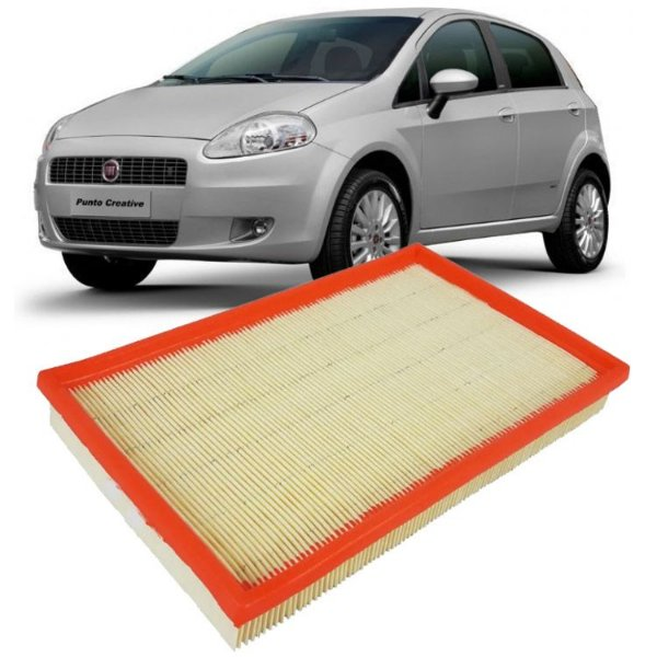 Filtro de ar Fram CA10131 - Fiat Punto 1.4 8V de 2007 até 2012