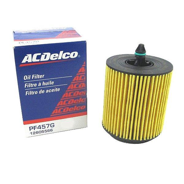 Filtro de óleo Acdelco GM Malibu 2.4 16V gasolina 2010 em diante e Captiva 2.4 Ecotec de 2009 até 2011