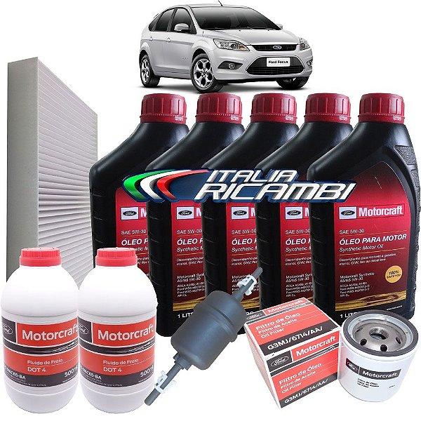 Kit Revisão Ford - 60.000 km 72 meses - Ford Focus 2.0 de 2009 até 2013