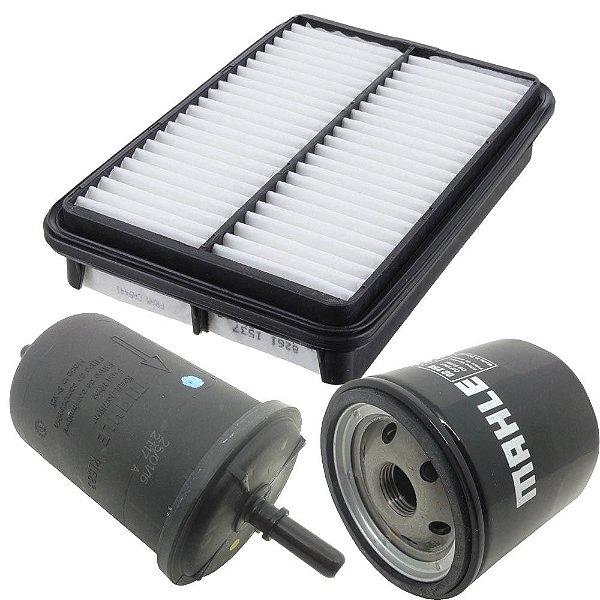 Kit filtros ar óleo e combustível - Kia Sportage 2.0 16V de 2008 até 2010