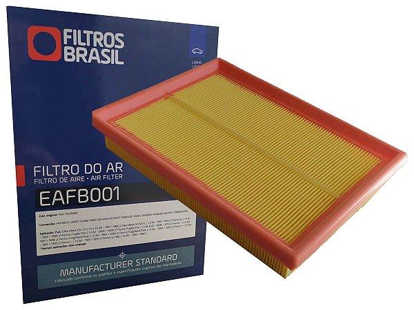Filtro de ar - Fiat Uno Mille Fiorino Elba Premio Uno Turbo - EAFB001