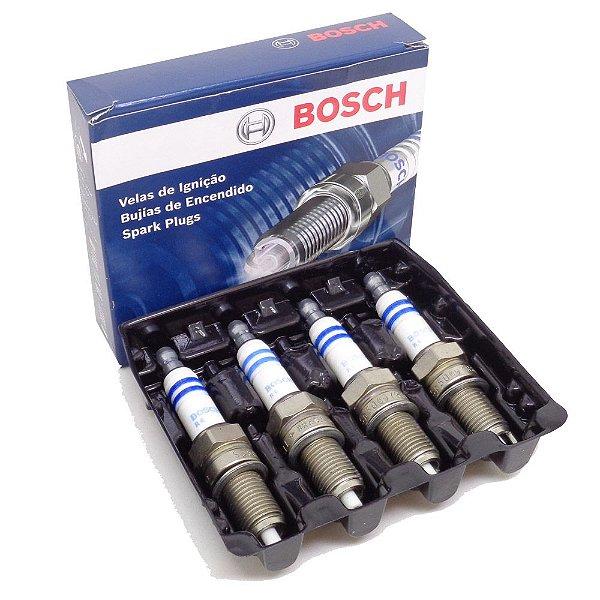 Jogo vela ignição Bosch SP45 Ford New Fiesta 1.5 e 1.6 16V todos