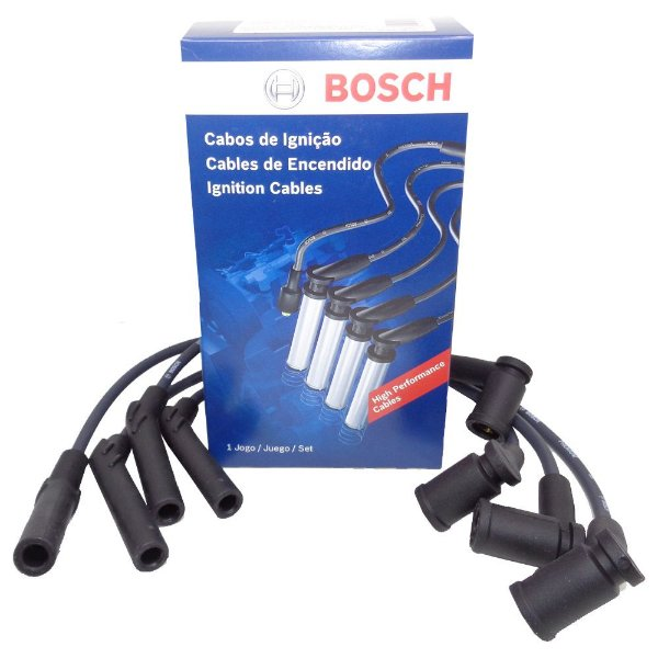 Jogo cabos de vela Bosch Fiat Fiorino Grand Siena Palio Punto Uno