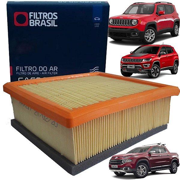 Filtro De Ar Do Motor Jeep Renegade Compass Fiat Toro Flex Diesel 2015 2016 2017 2018 2019 2020 2021