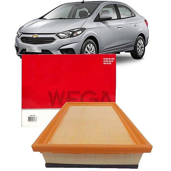 Filtro De Ar Wega Chevrolet Gm Prisma 1.0 1.4 8V Mpfi Lt Ltz Joy 2013 2014 2015 2016 2017 2018 2019
