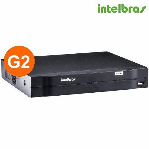 Dvr Intelbras 8 Canais 1008 Hdcvi 720p 1080p Tríbrido 3em 1