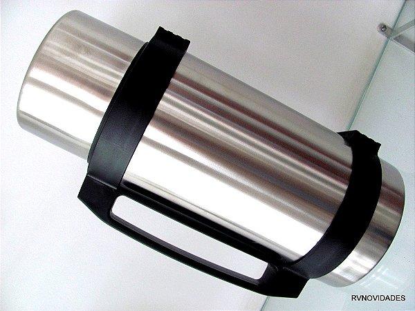 Garrafa térmica  aço inox