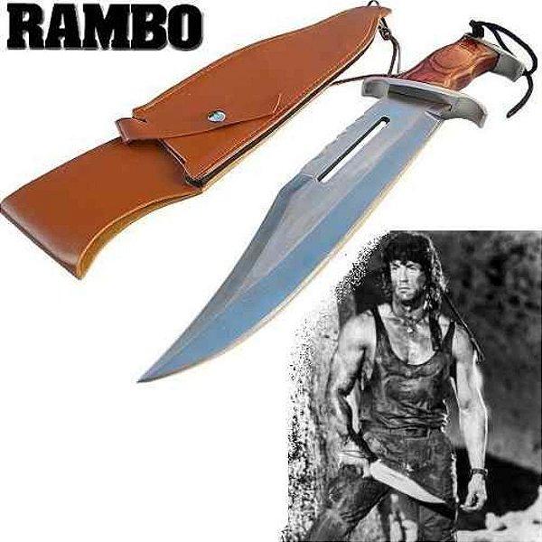 Faca Tática Milita Rambo