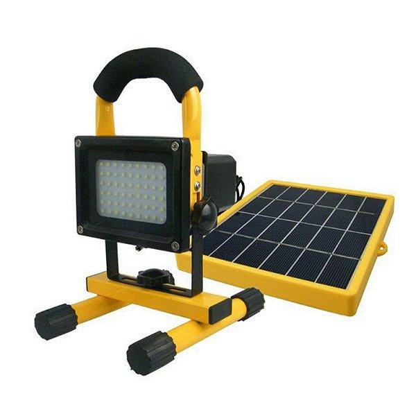 refletor luz solar 54 leds