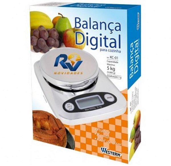 Balança digital de cozinha rvnovidades