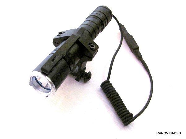 Lanterna Tática  Caça  Acionamento Remoto