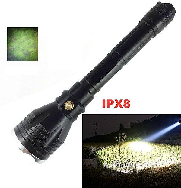 Lanterna mergulho profissional  LED IPX8