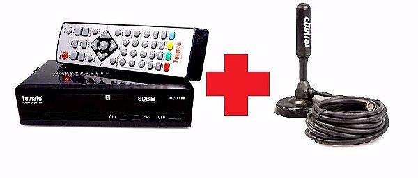 Conversor Digital e Gravador  mais  Antena Digital